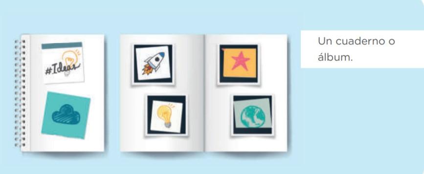 Ahora que ya tienes tu plan de escritura, lo que harás es elaborar la versión preliminar; diseña un boceto de tu fanzine. En la información que leíste sobre el fanzine, tienes algunos modelos de referencia que puedes utilizar o te pueden servir de inspiración para crear el tuyo. Si bien debe tener secciones, no olvides que tú decides la disposición de estas. Puedes dibujar, escribir, colorear, recortar figuras de periódicos o revistas y hacer un collage o pegar fotos. • Comparte el boceto de tu fanzine con alguien en casa que te dé su opinión. Pregúntale qué sugerencias tiene para mejorarlo. Realiza los ajustes correspondientes para que tengas lista la versión preliminar. • Entonces, con el plan de escritura y primera versión de tu fanzine, esperarás culminar los productos de los otros cursos. Cuando los tengas listos, será el momento de colocarlos en tu fanzine, podrás realizar los reajustes necesarios. Todos los productos deben verse integrados en el fanzine. ¡Dale tu toque personal y echa a volar tu imaginación! • Tómale una foto al boceto de tu fanzine y compártelo con tu docente, cuéntale cómo lo vas elaborando y las ideas que quieres publicar en él. En la siguiente semana regresaremos a colocar el texto argumentativo en tu fanzine para publicarlo.