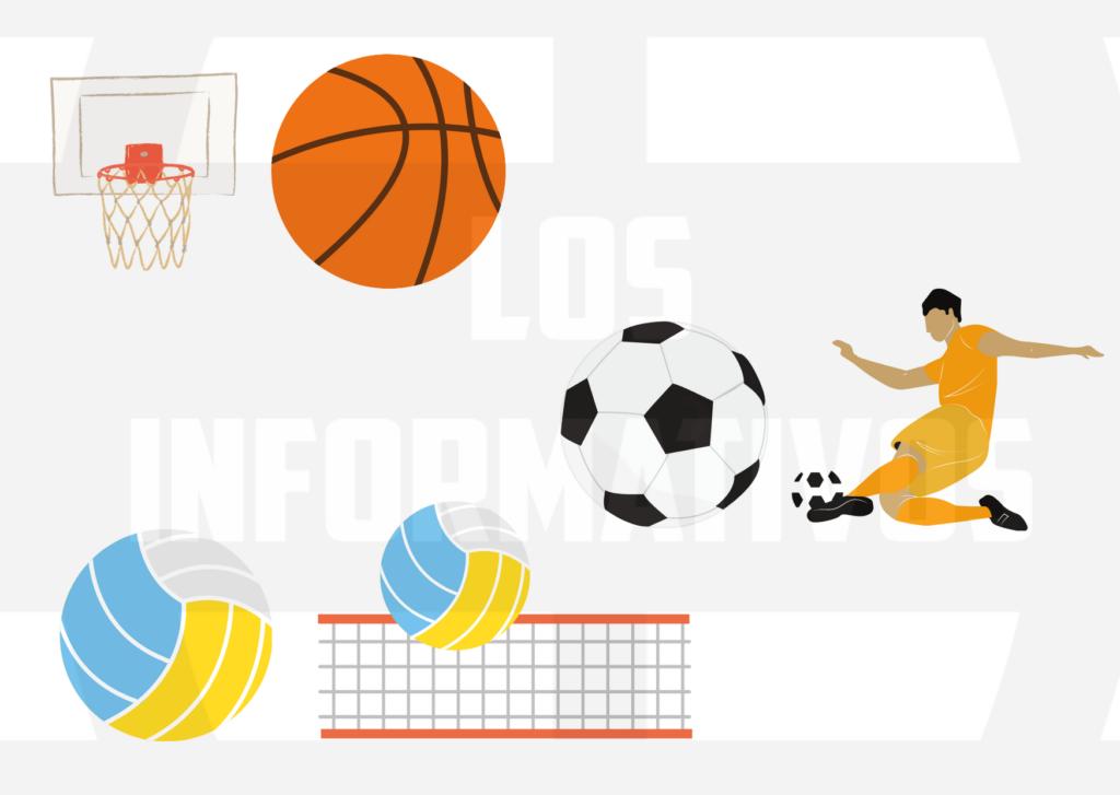 basquet futbol y voley