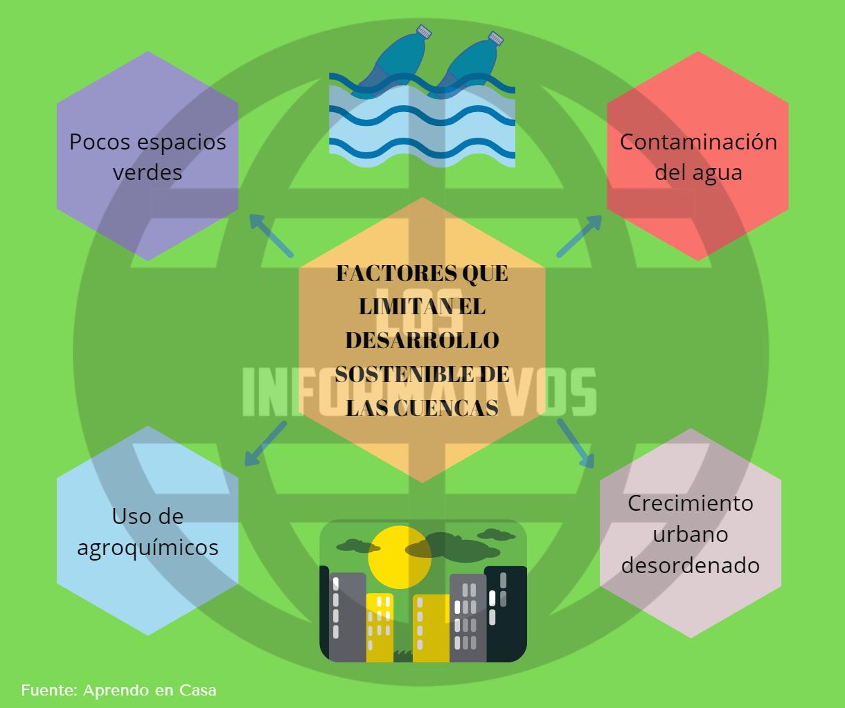 Factores que limitan el desarrollo sostenible de las cuencas