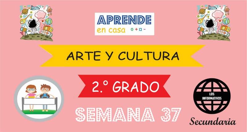 SEMANA 37 – Arte y Cultura (2º SECUNDARIA)