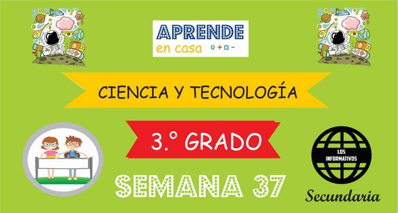 SEMANA 37 – Ciencia y Tecnología (3º SECUNDARIA)