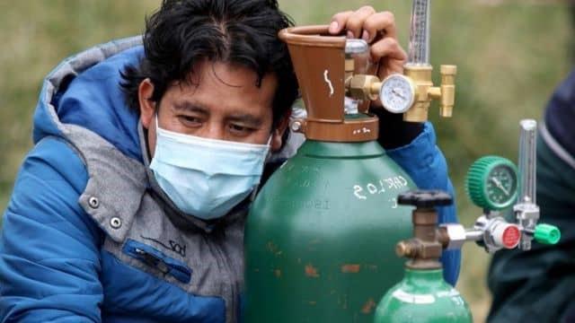 San Juan de Lurigancho: Denuncian a revendedores por oxígeno medicinal