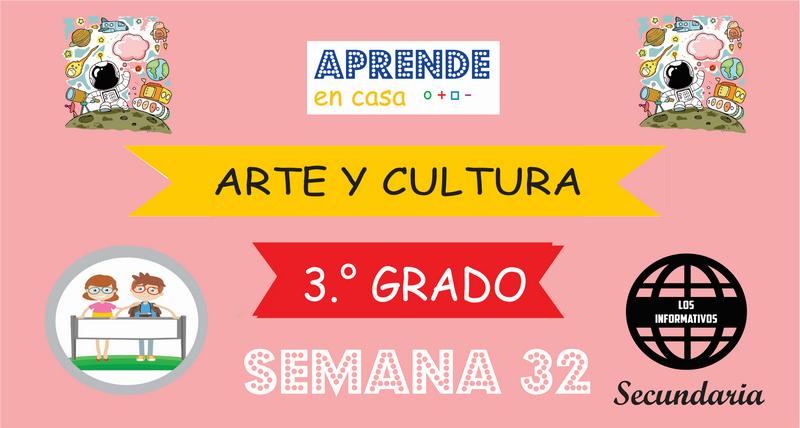 SEMANA 32 – Arte y Cultura (3º SECUNDARIA)