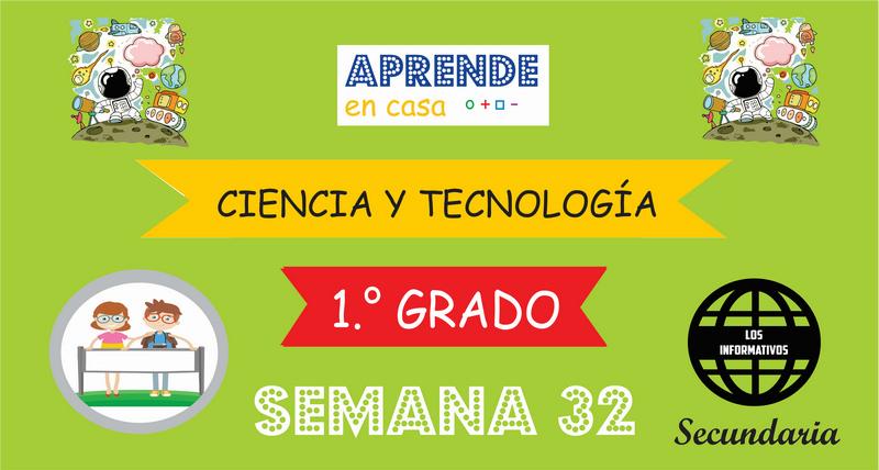 SEMANA 32 – Ciencia y Tecnología (1º SECUNDARIA)
