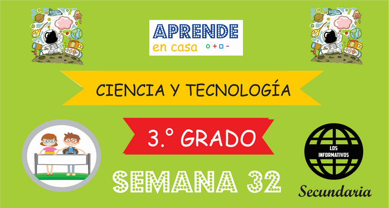 SEMANA 32 – Ciencia y Tecnología (3º SECUNDARIA)