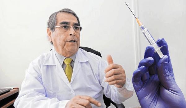 Ministro de Salud: El 61% de la población estaría vacunado para fines de julio