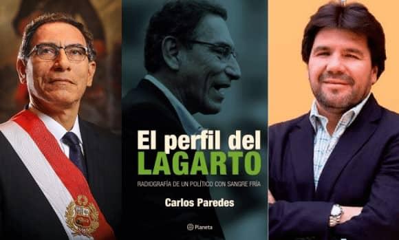 """Martín Vizcarra afirma que libro 'El perfil del lagarto' """"es fruto del rencor y de una actitud personal"""""""