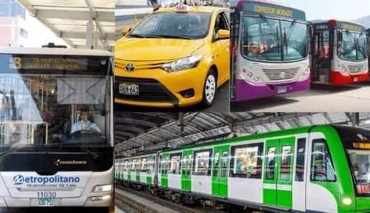 Desde el 1 de marzo el transporte público en Lima y Callao tendrá nuevos horarios