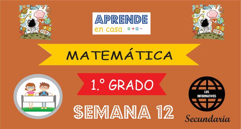 SEMANA 12-Matemática (1º SECUNDARIA)