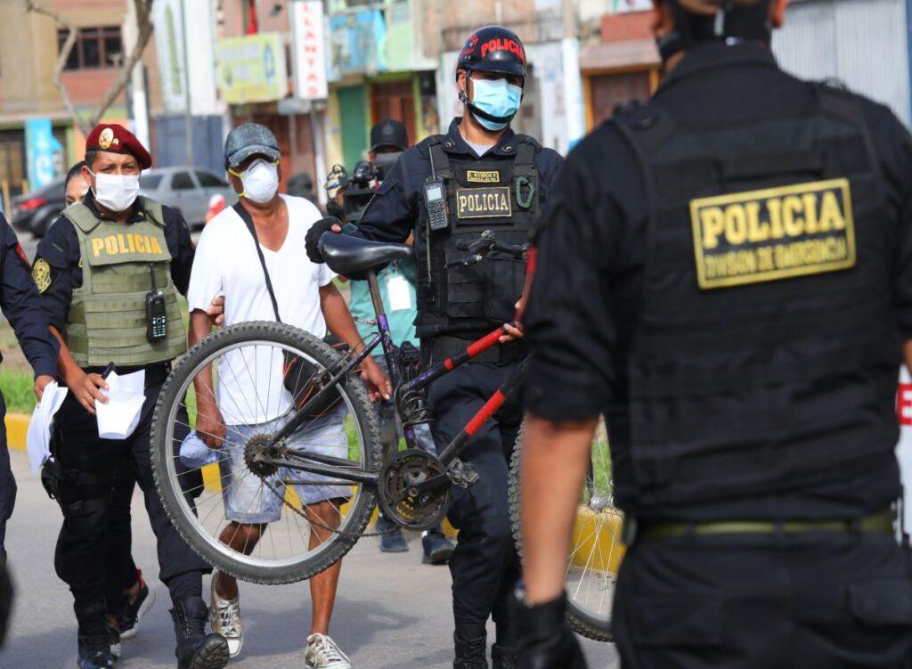 PNP intervino a 196.301 personas en toda lo que va de la segunda cuarentena