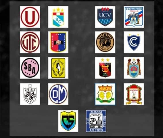 Fútbol peruano: Grupos y fixtures de Liga 1