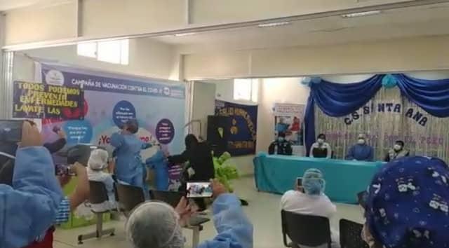 Huancavelica: Enfermeras realizan sociodrama para fomentar la vacunación