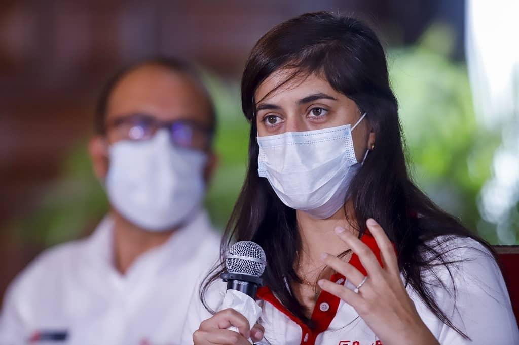 """María Antonieta: """"No he participado en ningún ensayo clínico para la vacuna contra la COVID-19"""""""