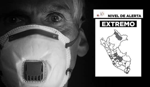 Provincias en nivel extremo: Restricciones y aforos