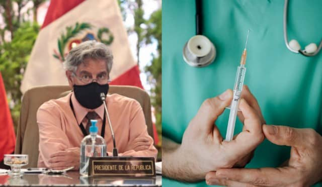 Sagasti: Para vacunar a todos los peruanos y peruanas en el 2021 tendríamos que elevar el ritmo de vacunación diaria