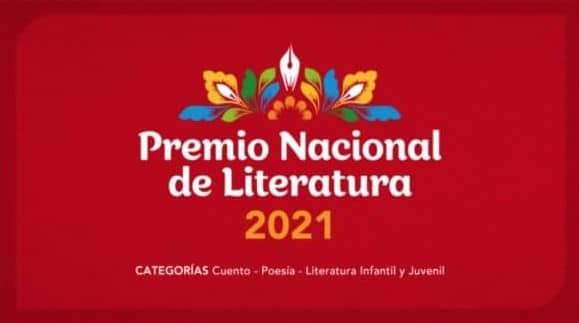Ministerio de Cultura: Convocatoria del Premio Nacional de Literatura 2021