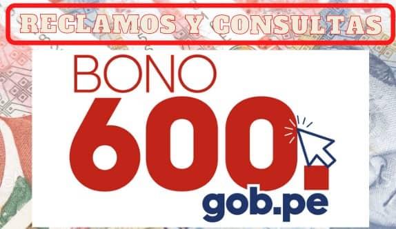 Bono 600: Midis habilita plataforma de consultas y reclamos a los beneficiarios