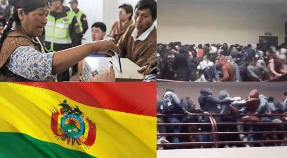 Se finaliza campaña electoral en Bolivia por muerte de siete universitarios
