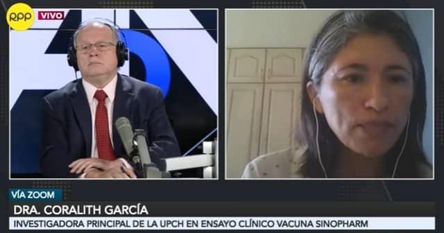 """Coralith García: """"El informe que se hizo público es un reporte preliminar"""""""
