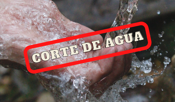 Corte de agua: zonas y horarios