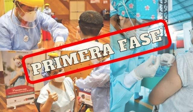 Lima Metropolitana: Personal de salud recibe segunda dosis de vacuna contra la Covid-19 [FOTOS]