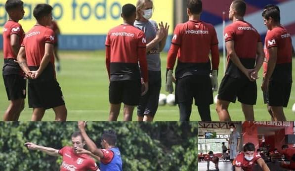 Selección peruana entrena bajo la dirección de Gareca