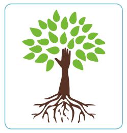 Paso 1. A partir de la siguiente imagen, vamos a identificar algunas actividades que pueden contribuir a mejorar nuestro bienestar físico y emocional, así como de nuestro entorno. Podríamos dibujarla en nuestro cuaderno o solo mirarla e imaginar nuestras respuestas. Paso 2. Reconocemos acciones que actualmente realizamos y que forman parte de nuestra rutina diaria, las cuales ubicaremos en las raíces. Pueden estar vinculadas a nuestros hábitos, acciones para nuestra comunidad, etc. Paso 3. En las hojas colocamos algunas metas que quisiéramos alcanzar; pueden estar relacionadas con nosotros mismos, nuestras familias, nuestra escuela o comunidad. Paso 4. Finalmente, en el tronco del árbol escribimos acciones con las que podríamos alcanzar estas metas.