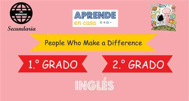 ACTIVITY 5 – Experience 4 – People Who Make a Difference – Level Pre A1 – 2° de SECUNDARIA
