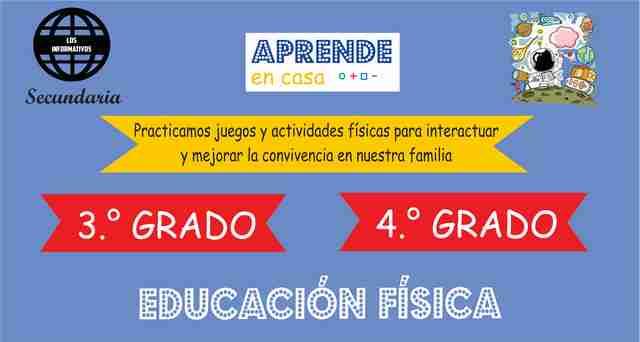 ACTIVIDAD 1 – Practicamos el juego motriz para promover la convivencia en nuestra familia – 4° Secundaria | Educación Física