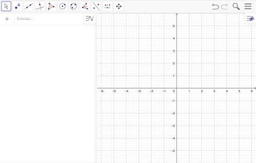 Utilizamos GeoGebra para representar gráficamente la función cuadrática, empleando el modelo obtenido en la fase de la formulación matemática.