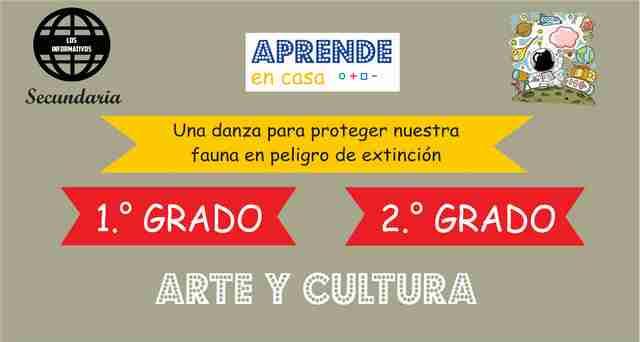 ACTIVIDAD 3 – Elaboramos una máscara que represente un animal en peligro de extinción – 2° Secundaria | Arte y Cultura